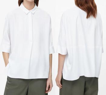 Desain Baju Terbaru Kebesaran Model Kemeja Kantor Wanita Baru Untuk