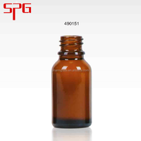 Trustworthy china supplier 15ml dark amber glass bottles with dropper