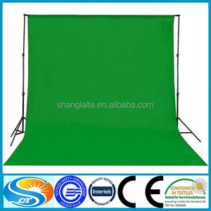 Chromakey Green screen Muslin Backdrop Suppport Stand Photo Kit Photography Lighting Background