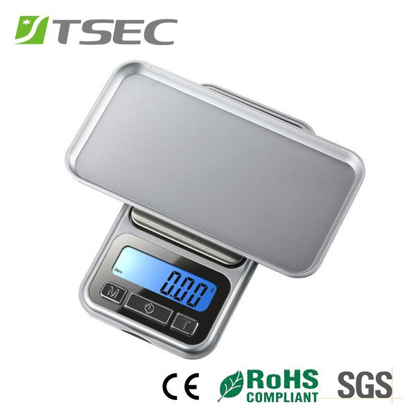 pocket weigh mini scales 1000g 0.1g digital pocket scale