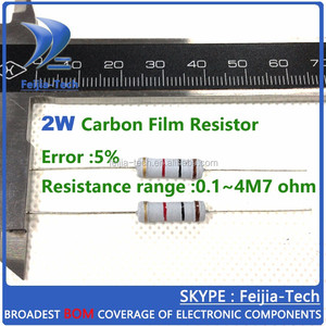 2W 1K ohm +/-5% Carbon Film Resistor Color ring resistance