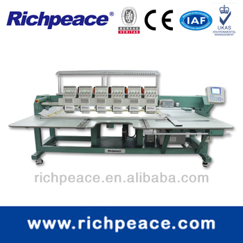 Computerized Multi Head Precise Flat Embroidery Machine With Optional Device