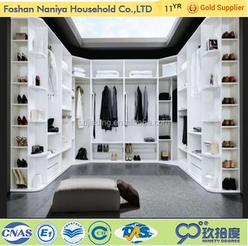 Luxury Wooden Wardrobe Designs European Style Bedroom Furniture Sets With  Walk In Closet