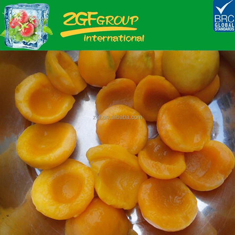 delicious frozen iqf yellow peach sliced diced