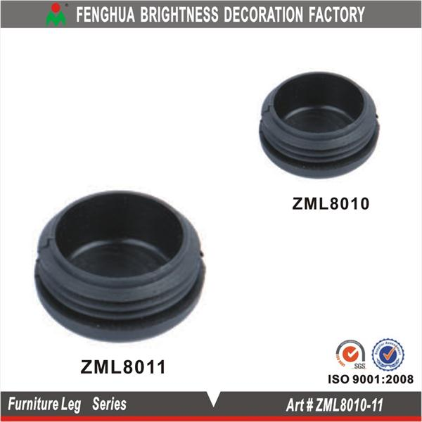 Free 2 Day Shipping Plastic Plug End Caps 38mm X 37mm Round Furniture Table Chair Legs 25pcs At