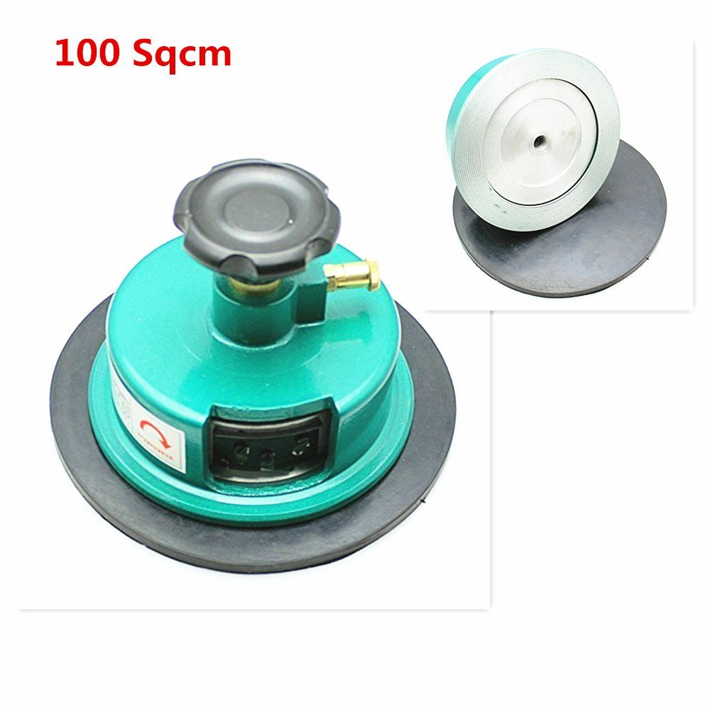 ELEOPTION 100 Sqcm Round Sample Cutter Round Cardboard Textile Carpet Sample Cutter,Application Weight test 100 Sqcm With Double-edged Blades