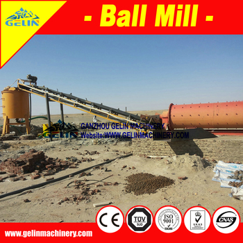 Benefication facility grinding plant for rock gold