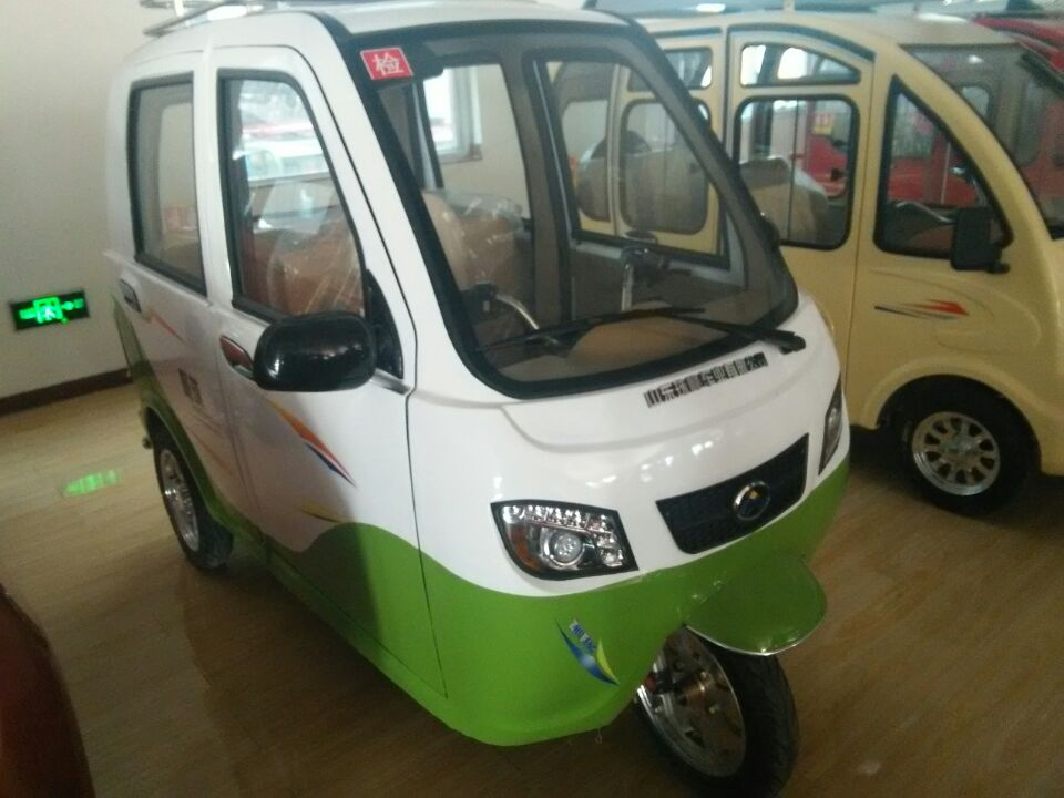 2016 hot sale 3 wheel passenger electric car for pakistan for Electric motors for cars for sale