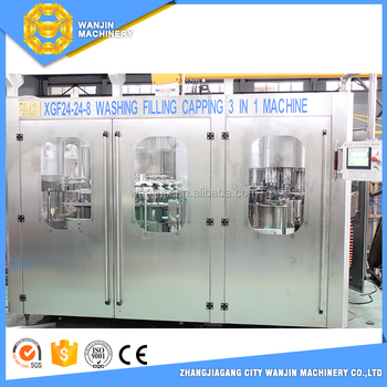 bottle blowing machine/bottle washing filling capping machine/mineral water plant
