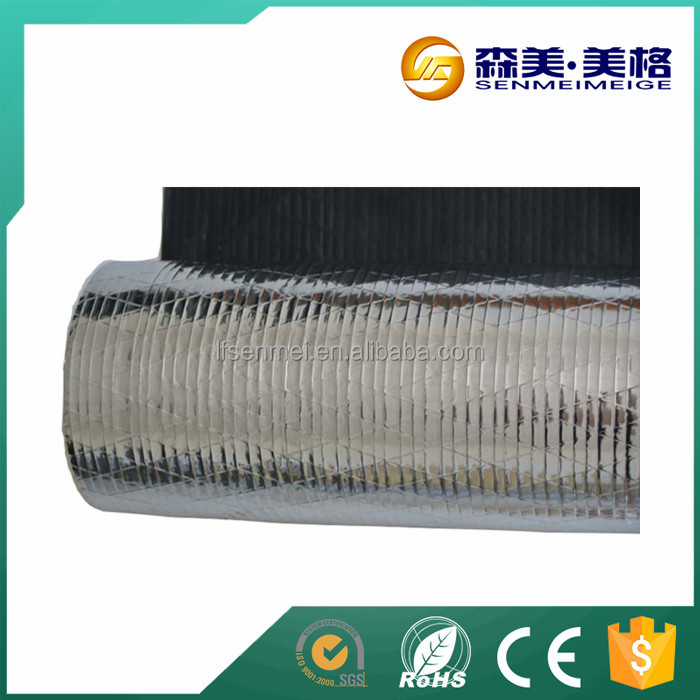 perforated woven fabricfoil/backed aluminum foil/foil attic insulation