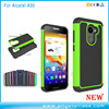 Football Pattern PC+ Silicone Rugged Hard Cover Phone Case For Alcatel A30
