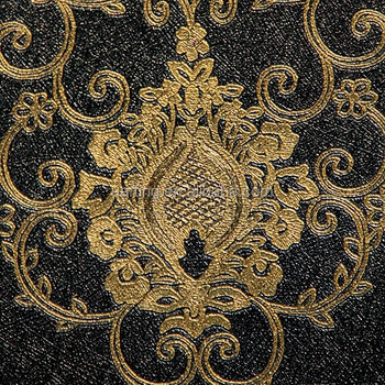 Chinese Design Wallpaper Gold And Black For Club