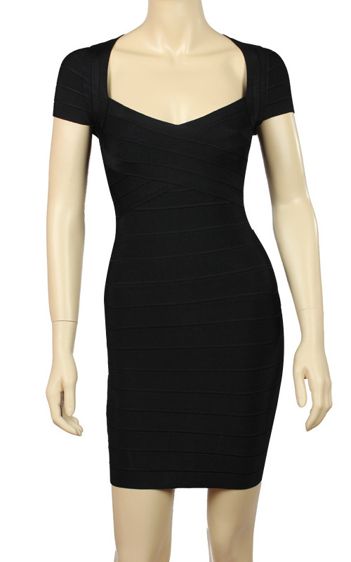 Cheap Long Black Dress With Short Sleeves Find Long Black Dress