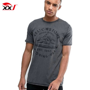 street style clothing oil wash overseas t shirts with graphic print wholesale slim fit t shirt for men online shopping india