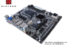 embedded industry motherboard with Intel skylake H110/Q170 chipset LGA1151 socket motherboard, support dual display, PCIE