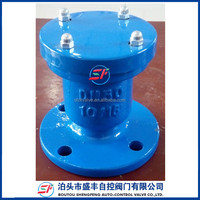 Shengfeng brand ductile iron pn16 P41X Quick exhaust air release valve