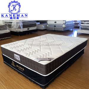 8inch Roll up packing spring thin bed mattress for bunk bed