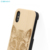 Wholesale Custom Laser Carving Blank Natural Wood Mobile Phone Case For iPhone X