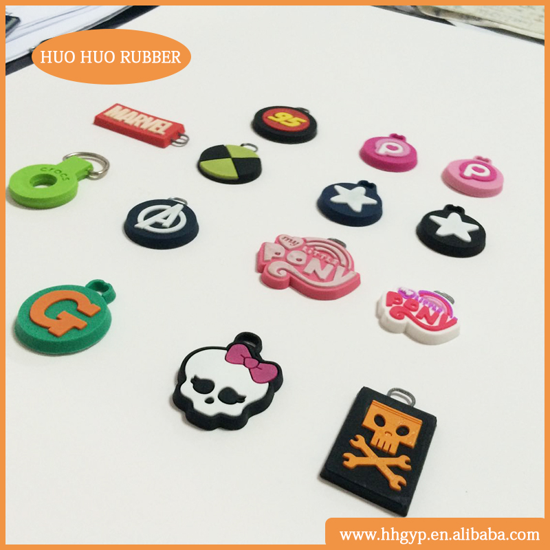 Factory price with custom logo printing rubber zipper cover