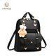 New design PU Leather Smart School Bags Backpack For Girls