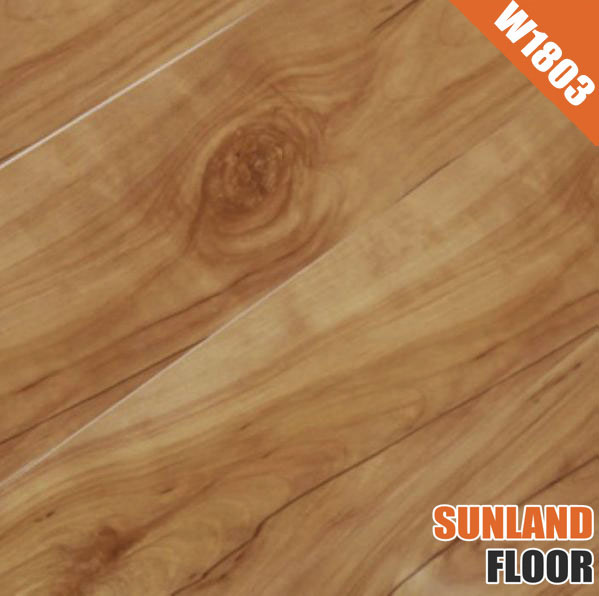 Laminated Board W1803 Zebra Wood Flooring Factory Direct Laminate