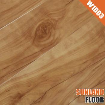 Laminated Board W1803 Zebra Wood Flooring Factory Direct Laminate