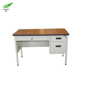 Collage dormitory under bed steel studying desk 1 person modern computer desk
