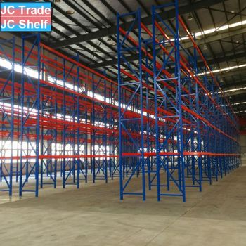 Standard Quality Heavy Duty Warehouse Pallet Shelf Racking from China Factory