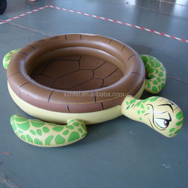 large turtle inflatable swimming poolf