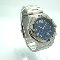 Lasted design men's watches with stainless steel case and sapphire crystal
