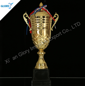 Gold Plate The Popular Cover Plastic Metal Cup Trophies Of Award
