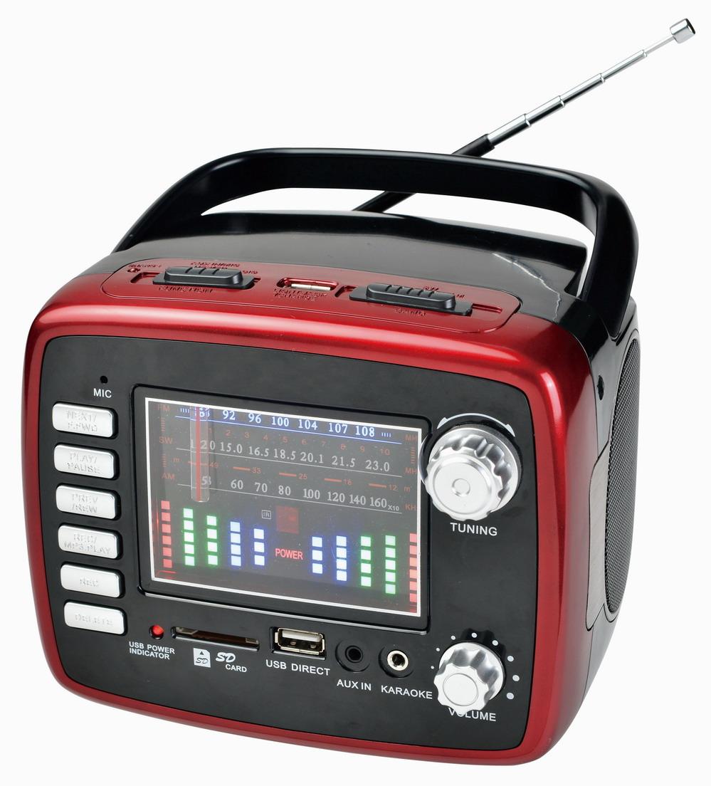 Shenzhen Kingstar Portable Am Fm Tv Radio Digital Boom Speaker ...