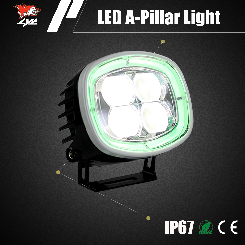 2016 trending led products 40W auto drl offroad led man truck lights