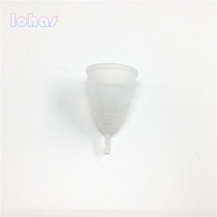 Factory price soft cup silicone menstrual cup for heavy flow