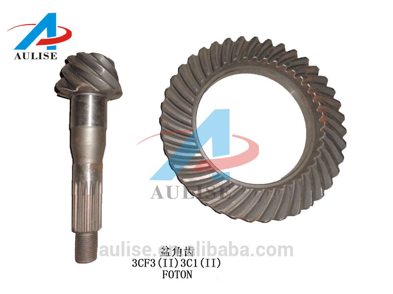 JAC DONGFENG FOTON REUCK PARTS JAC HFC 1131 crown and pinion 202252-G1510-5.125