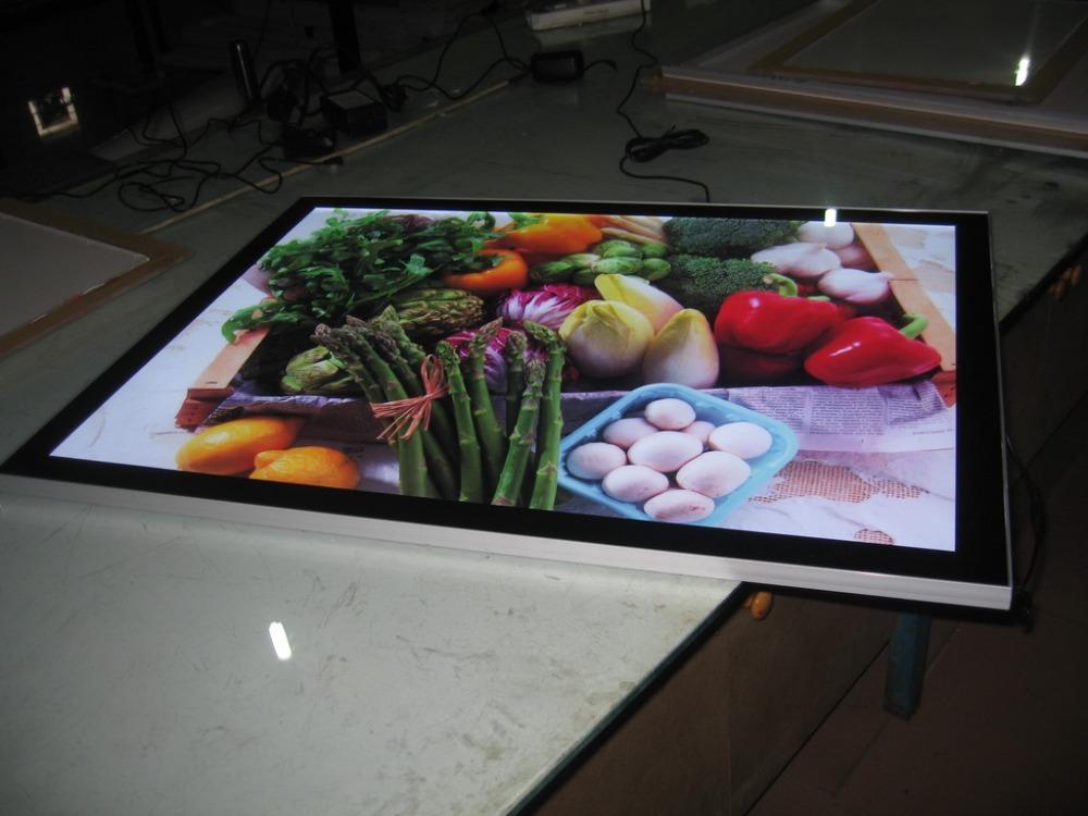 online buy wholesale led poster frame from china led poster frame wholesalers. Black Bedroom Furniture Sets. Home Design Ideas