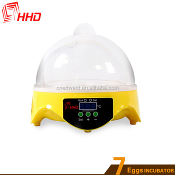 HHD EW9-7 Hot selling model in USA mini type egg incubator /egg incubator for sale in