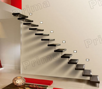 Solid Wood Staircase / Glass Stairs/ Build Floating Staircase