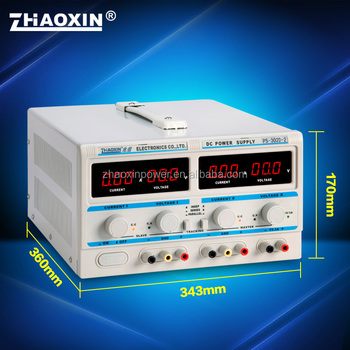 ZHAOXIN PS-302D-II Triple output high precision dc regulated power supply with CE approval