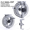 customer design super light large arbor waterproof fly reel
