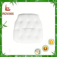 chiavari ruffle chair polyurethane foam chair cushion