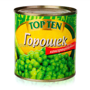 Canned Green Peas in Tin in Brine
