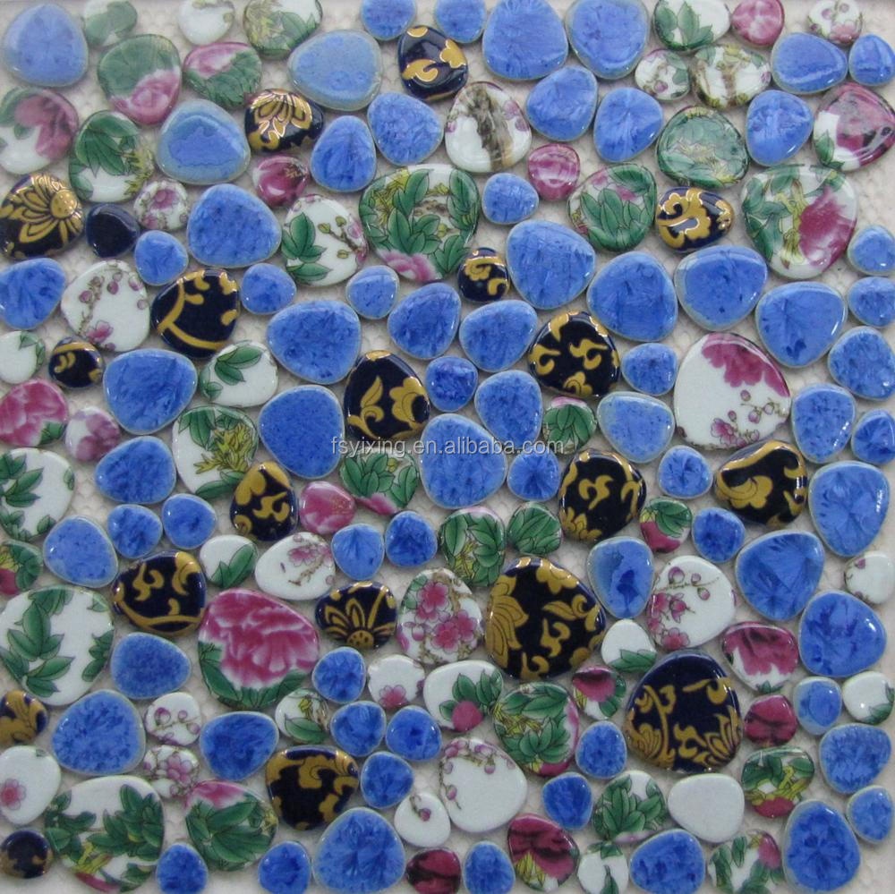 Famous China Style Porcelain Mosaic Tile For Wall Tiles And Craft ...