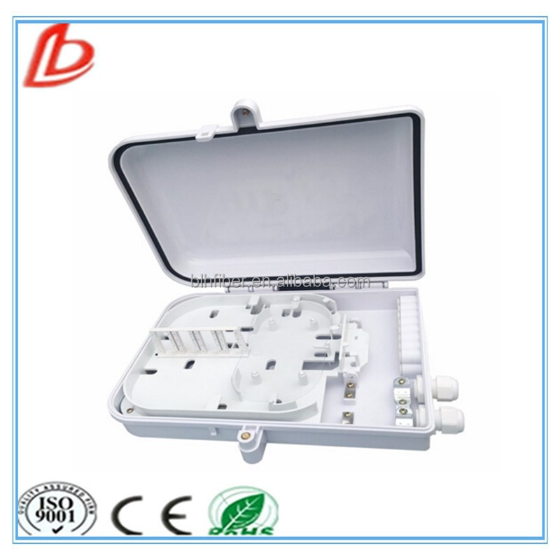 16 Core ABS Outdoor Optical Fiber Distribution/Termination Box