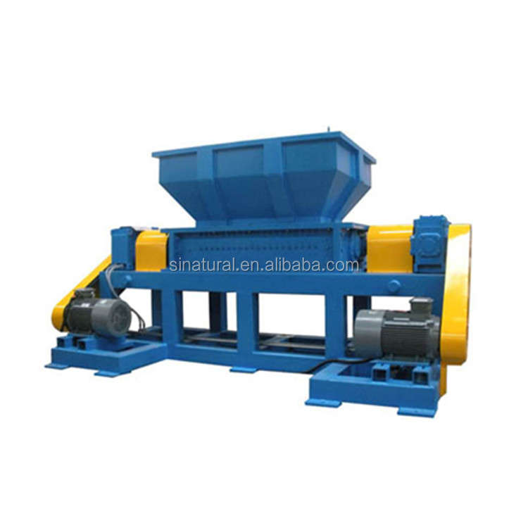 Plastic afval shredder rotor blade plastic recycling machines