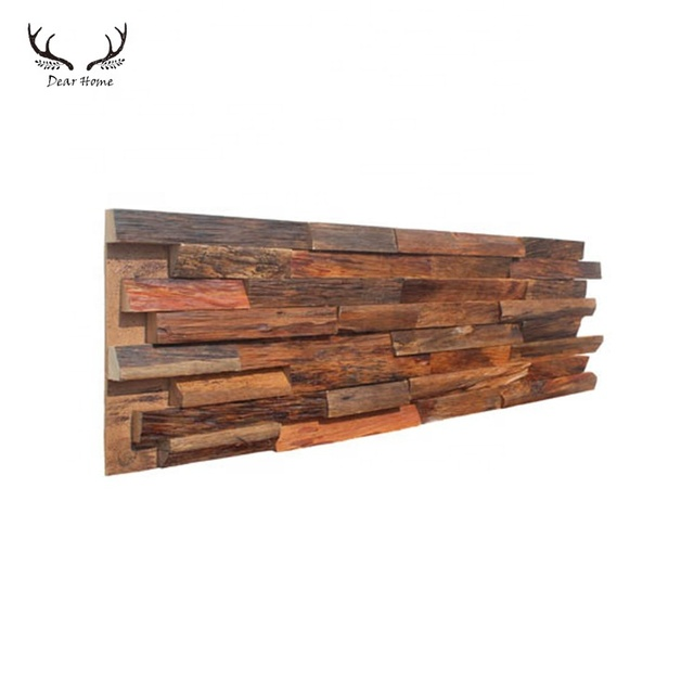 Home Decor Solid Wood Wall Covering