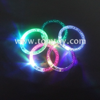 Tomtoy Colorful Change LED Flashing Bubble Bracelet