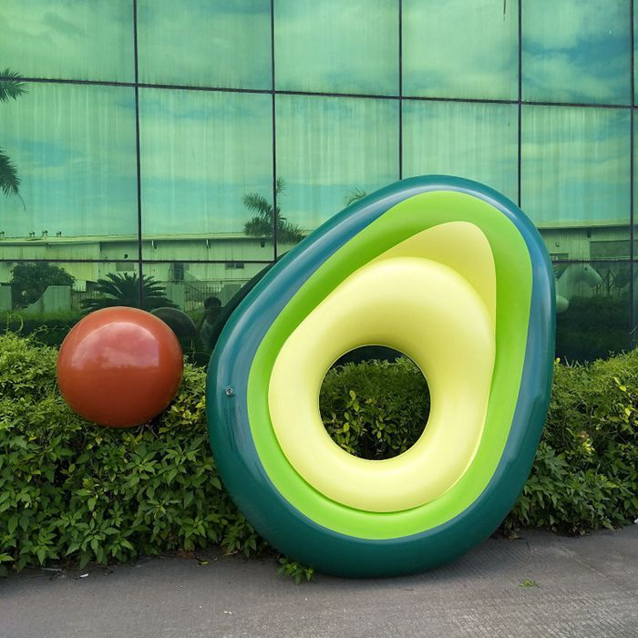 Inflatable Avocado Fruit Pool  for Adults and Kids