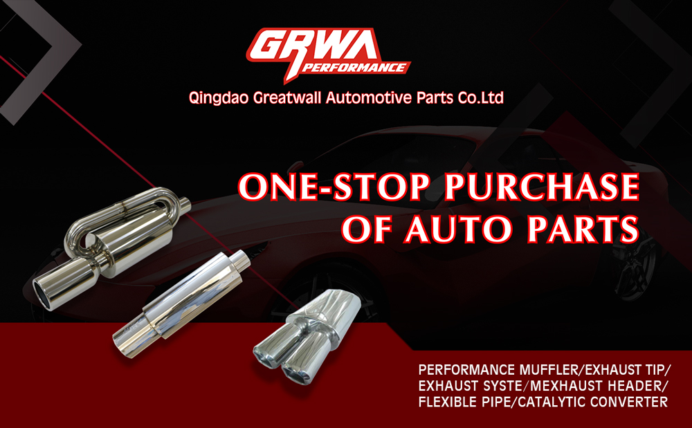GRWA High Quality New Style Titanium Exhaust Muffler For Honda