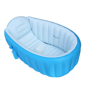 New design safe PVC foldable portable baby bath pool inflatable baby bath tub